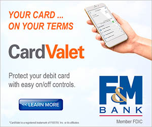 F&M Bank Card Valet