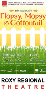 Roxy Regional Theatre - Flopsy, Mopsy & Cottontail