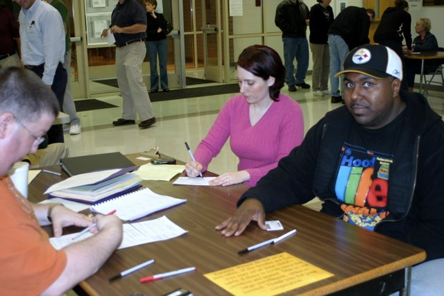 Images from Clarksville, TN's Presidential Preference Primary