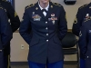 Spc. Carissa Payeur, a health care specialist, with Company C, 526th Brigade Support Battalion, 2nd Brigade Combat Team, 101st Airborne Division (Air Assault), stands in formation after earning the title of the division's Soldier of the Year 2015, April 23, 2015. Payeur will represent the division at the XVIII Airborne Corps' 2015 Soldier and NCO of the Year Competition at Fort Bragg, North Carolina, June 8-11, 2015. (U.S. Army photo Staff Sgt. Terrance D. Rhodes, 101st Airborne Division (Air Assault) Public Affairs)