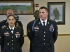 Sgt. David Payton, right, an infantryman, with Headquarters and Headquarters Company, 3rd Brigade Combat Team, 101st Airborne Division (Air Assault), stands in formation after earning the title of NCO of the Year for the division April 23, 2015. Runner-up was Sgt. Alisa Ryder, left, a health care specialist with Company C, 526th Brigade Support Battalion, 2nd Brigade Combat Team, 101st Airborne Division (Air Assault). (U.S. Army photo Staff Sgt. Terrance D. Rhodes, 101st Airborne Division (Air Assault) Public Affairs)