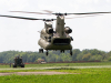 Soldiers from the 584th Support Maintenance Company, 129th Combat Sustainment Support Battalion, 101st Sustainment Brigade, 101st Airborne Division, prepare to sling load a generator to a CH-47 Chinook helicopter Sept. 3 at Fort Campbell, Ky.  (U.S. Army photo by Sgt. Leejay Lockhart, 101st Sustainment Brigade Public Affairs)