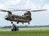 Soldiers from the 584th Support Maintenance Company, 129th Combat Sustainment Support Battalion, 101st Sustainment Brigade, 101st Airborne Division, prepare to sling load a water buffalo to a CH-47 Chinook helicopter Sept. 3 at Fort Campbell, Ky.  (U.S. Army photo by Sgt. Leejay Lockhart, 101st Sustainment Brigade Public Affairs)