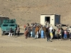 "Villagers gather to receive various items during a humanitarian aid distribution mission near Forward Operating Base Salerno, Afghanistan, Dec. 10, 2012. Soldiers from Company A, 3rd Special Troops Battalion, 3rd Brigade Combat Team ""Rakkasans,"" 101st Airborne Division (Air Assault), assisted the Afghan Uniformed Police in distributing school supplies for the local school children in order to build relations between the village and the AUP. (U.S. Army photo by 1st Lt. John Zaehringer, 3rd STB Unit Public Affairs Representative)"