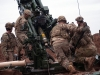 U.S Army Soldiers with Battery C, 1st Battalion, 320th Field Artillery Regiment, Task Force Strike, load a round into M777 artillery piece to support the Iraqi security forces during the Mosul counter offensive, Dec. 24, 2016, in northern Iraq. Battery C is supporting the ISF with indirect fires in their fight against ISIL. (U.S. Army photo by 1st Lt. Daniel Johnson)