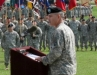 Maj. Gen. John F. Campbell delivers his remarks