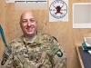 "1st Sgt. Tommy Daigle, B Company, 5th Battalion, 101st Combat Aviation Brigade cracks jokes in his office at Forward Operating Base Fenty, Afghanistan Dec. 11, 2012. ""I'm never too old to learn from my Soldiers,"" said Daigle. (U.S. Army photo by Sgt. Duncan Brennan)"