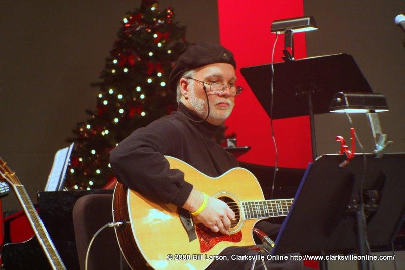 Paul Carrol Binkley, acoustic guitar