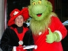 The Grinch and companion payed Clarksville a visit.