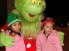 The Grinch with two young fans.