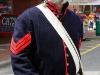 Volunteer in period costumes