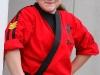 A Baize Karate student