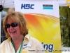 Cyntha Kroll of Hemlock Semiconductor speaks with festival attendees