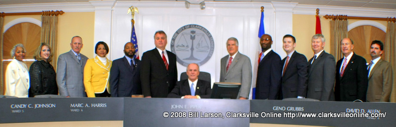 The New Clarksville City Council