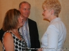 Lynda and James O'Connor chat with a banquet guest