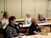 Participants listens to James O'Connor, president of O\'Connor Communications- a marketing  company specializing in book promotions and author of