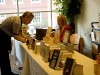 The author\'s books were made available for purchase at the 2009 Clarksville Writers\' Conference