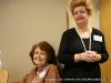 Chairwoman Patricia Winn and Suzanne Schaaf at the 2009 Clarksville Writers\' Conference