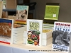 Some of the many books available for purchase at the 2009 Clarksville Writers\' Conference