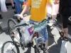 Wayne Scott with his new bicycle.