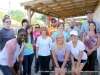 Hilltop Super Market employees and Montgomery Central students that helped with the event