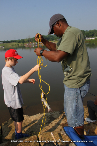 Clarksville Youth Fishing Rodeo a big hit with the Kids ...