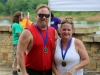 Brad Welker and Joy Welker came in second in the Beginner (Doubles) Division at the 4th annual Rally on the Cumberland.