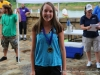 Megan McFaul came in second in the Youth Division at the 4th annual Rally on the Cumberland.