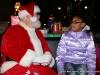 Visiting with Santa Clause