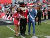 APSU Homecoming King and Queen, Amber James and Brandon Herbert.