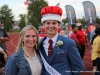APSU Homecoming King Brandon Herbert and his mother Becky Tucker.