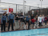 Members of the Clarksville Police Department led the charge at this year's Polar Plunge. The event held Saturday at APSU's Foy Pool raised more than $10,000 for Tennessee Special Olympics.