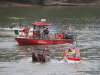 Though smaller this year, Riverfest still managed to produce several great events, including Saturday's Riverfest Cardboard Boat Regatta.