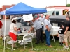 A contestant tent at the BBQ Cookoff