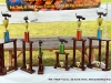 The BBQ Cookoff Trophies.