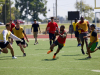Soldiers from 5th Special Forces Group (Airborne), face off during the reunion week flag football playoffs at Fort Campbell, Ky., Wednesday, Sept 18, 2019. The semi-final game between 3rd Battalion and Group Support Battalion, 5th SFG(A), went into double overtime. U.S. Army photo by Sgt. Christopher Roberts