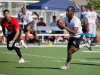 Soldiers from 5th Special Forces Group (Airborne), face off in the reunion week flag football championship at Fort Campbell, Ky., Wednesday, Sept 18, 2019. Turnovers caused by 2nd Battalion's defense led to five scoring drives against 3rd Battalion, 5th SFG (A).U.S. Army photo by Sgt. Christopher Roberts
