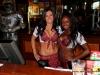 Clarksville Tilted Kilt waitresses Jessica and Samaria.