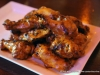 Grilled Wings with Tilted Kilt Signature sauce.
