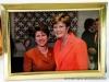 Clarksville Mayor Kim McMillan and Pat Head Summitt