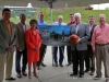 Clarksville Leaders Unveil Plans for Pat Head Summitt Plaza at Freedom Point Thursday morning, July 14th.