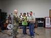 The Department of Environment-Forestry presented the Tree City Award to Garrison Commander Col. James R. Salome.