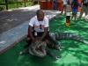 LEAP Youth visit Miccosukee Indian Village.