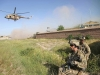 U.S. Army Soldiers from Alpha Company, 1st Battalion, 327th Infantry Regiment, 1st Brigade Combat Team, 101st Airborne Division, secure a landing zone for Afghan Air Force Mi-17 helicopters outside the village of Hesarak, Nangarhar Province, Afghanistan, May 17. The Mi-17s will transport Afghan National Army Soldiers back to Forward Operating Base Connolly after a successful Afghan led clearing operation. (U.S. Army photo by Spc. Vang Seng Thao, 55th Signal Company, Combat Camera)