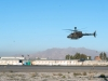 An OH-58D Kiowa Warrior helicopter with 2nd Squadron 17th Cavalry Regiment, 101st Combat Aviation Brigade takes off for a patrol mission at Forward Operating Base Fenty, Afghanistan, Dec. 19, 2012. (U.S. Army photo by Sgt. Duncan Brennan, 101st CAB public affairs)