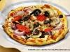 Silke\'s mushrooms, tomatoes and black olives
