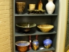 Ceramics and pottery are also part of the display