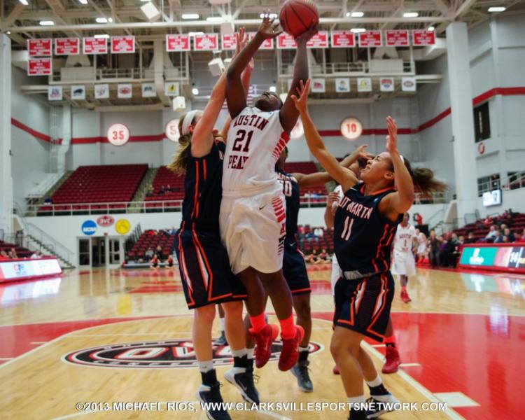 APSU Lady Govs Basketball falls 95-81 to UT Martin ...