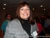 A smiling convention participant