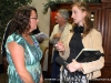 Kim Smith chats with fellow convention attendant